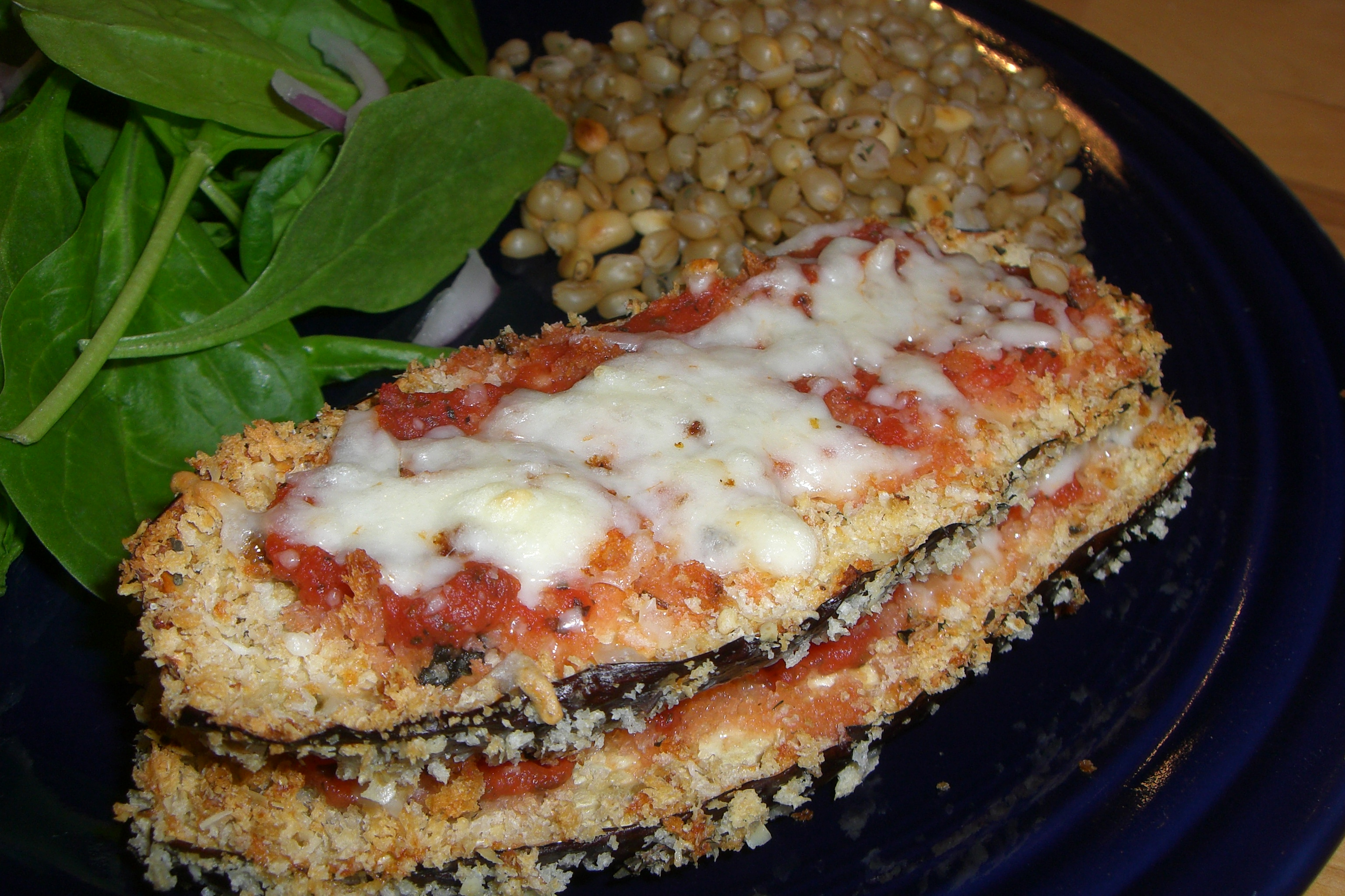 Eggplant Parmesan | Get Healthy With Heather
