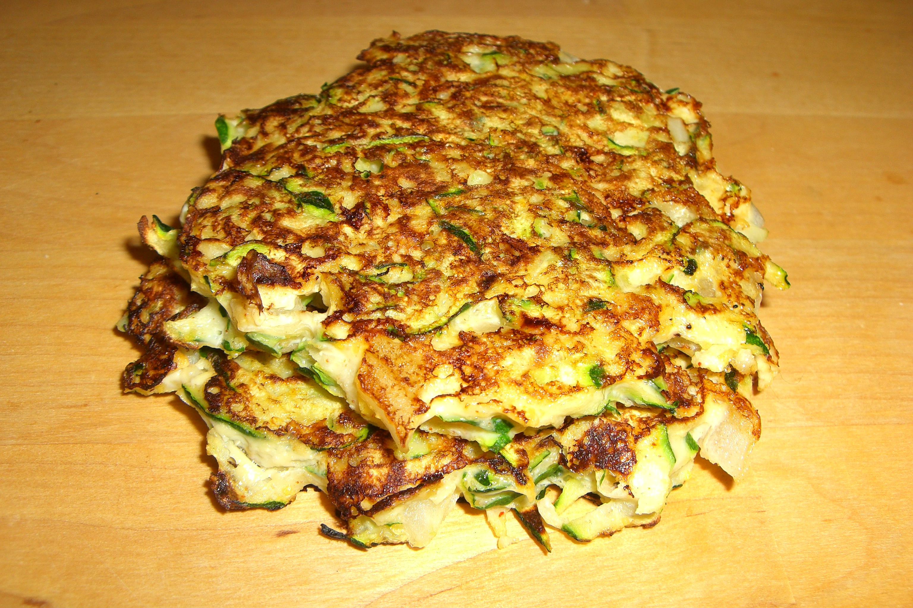 Zucchini Cakes   Get Healthy With Heather