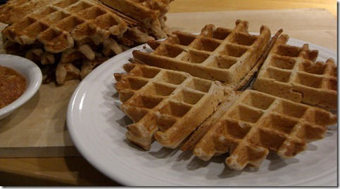 Cheese waffle snack recipes